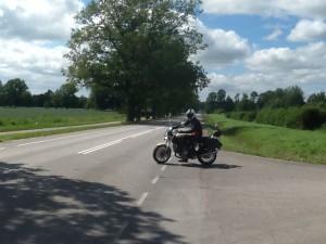 2014-07-10 Karl på vägen mot Lettland