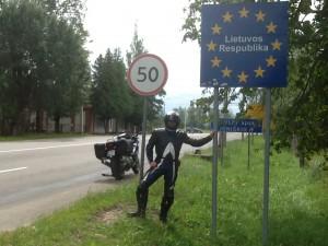 2014-07-11 Jag vi d gränsen till Litauen