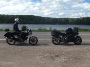 2014-07-11 Vid floden mot Riga