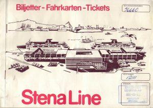 Biljetten Göteborg - Kiel